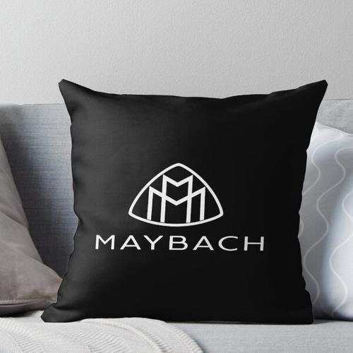 Maybach Logo weiß Kissen