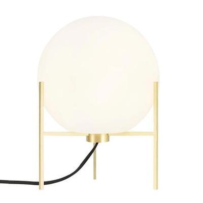ALTON-Lampe tripode Métal/Verre H29cm Blanc Nordlux