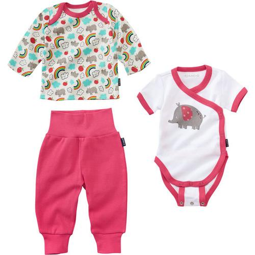 Newborn-Set, pink, Gr. 56