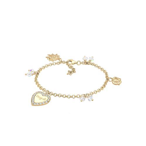 Elli Elli Armband Bettelarmband Wiesn Kristalle Silber Armbänder & Armreifen Damen