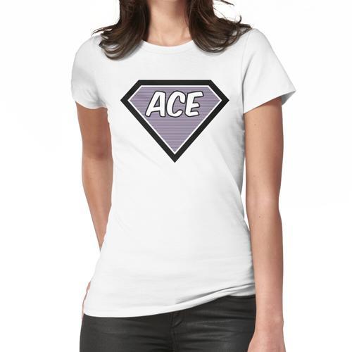 Asexuelle Abgeschirmtes Design Frauen T-Shirt