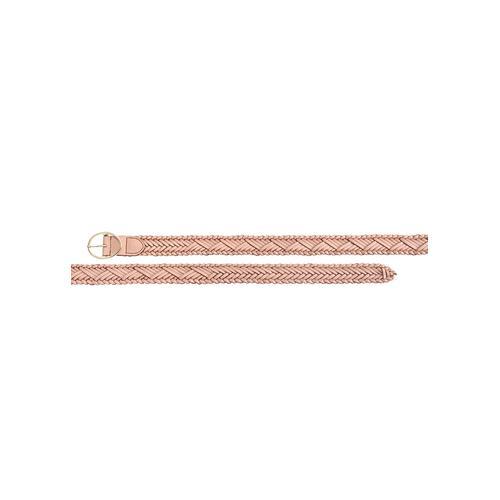 LASCANA Flechtgürtel, Hüftgürtel aus Leder rosa Damen Ledergürtel Gürtel Accessoires Flechtgürtel