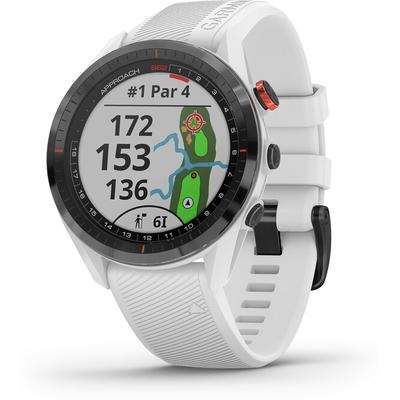 Garmin Approach S62 GPS Golf Watch - Black/White