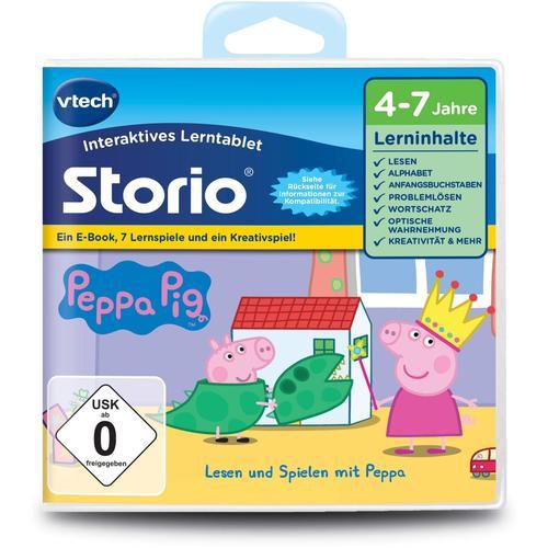 Vtech Spiel Storio Lernspiel, Peppa Pig, vtech (ohne farbbezeichnung) Kinder Videospiele Gaming-Shop