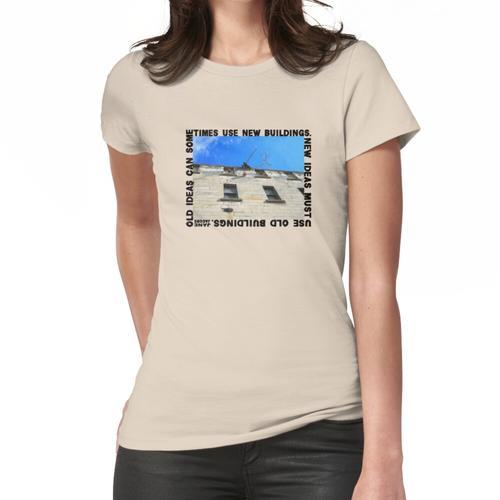 Neue Ideen müssen Altbauten, Jane Jacobs verwenden Frauen T-Shirt