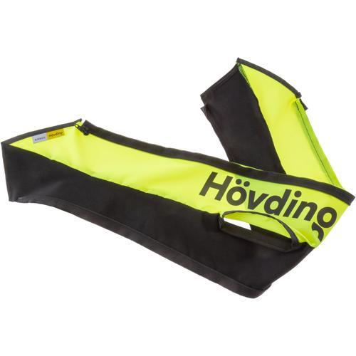 Hövding ÜBERZUG HI-VIS Fahrradhelmüberzug in gelb-schwarz, Größe Einheitsgröße