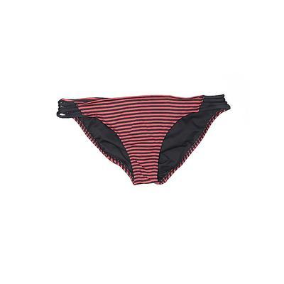 Mossimo Swimsuit Bottoms: Orange Print Swimwear - Size X-Large