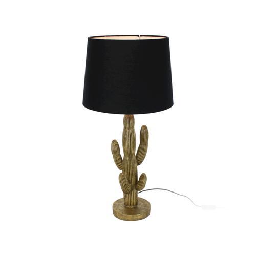 VOSS Design »Kaktus« Tischleuchte Schirm schwarz