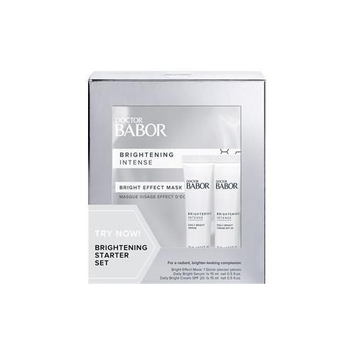BABOR Gesichtspflege Doctor BABOR Brightening Starter Set Bright Effect Mask 1 Stk. + Daily Bright Serum 15 ml + Daily Bright Cream SPF 20 15 ml 1 Stk.