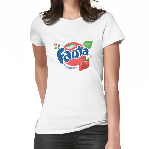 Erdbeer Fanta koffeinfreies Logo Frauen T-Shirt