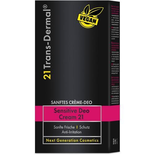 21 Trans-Dermal Sensitive Deo Cream 21 50ml Deodorant Creme
