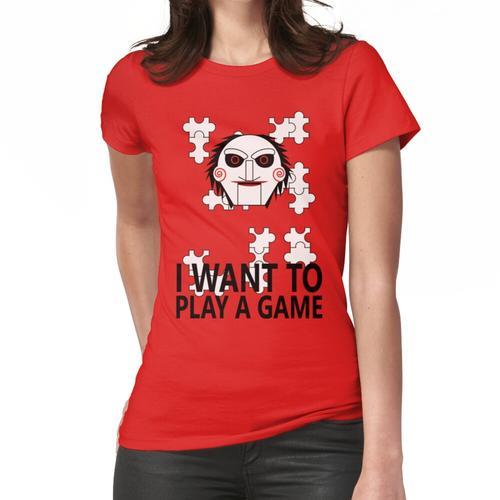 Sah Puzzle-Puppe Frauen T-Shirt