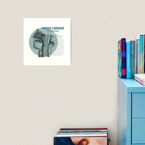 SLP Dysphagie Kunstdruck