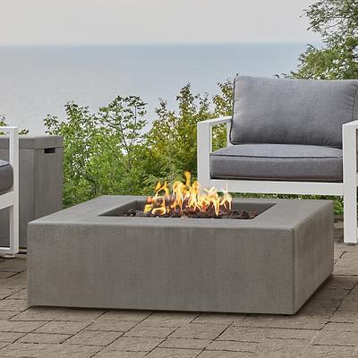 Estes Low Square Fire Table - Ballard Designs