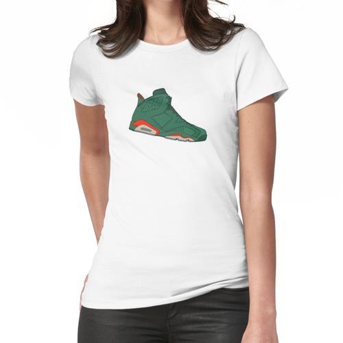 Jordan 6 Retro - Gatorade Grün Frauen T-Shirt