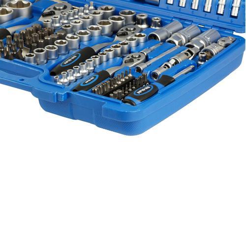 Bgs Werkstattwagen-einlage Schraubenschlüssel Zangen Sw-stahl Steckschlüssel-set