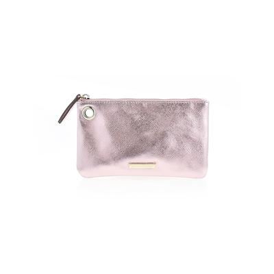 New York & Company Clutch: Pink Solid Bags