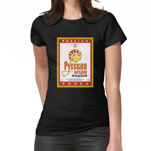 Russischer Wodka Frauen T-Shirt