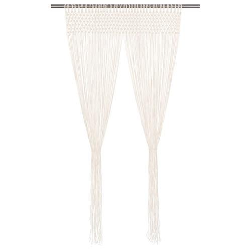 vidaXL Makramee Vorhang 140×240 cm Baumwolle