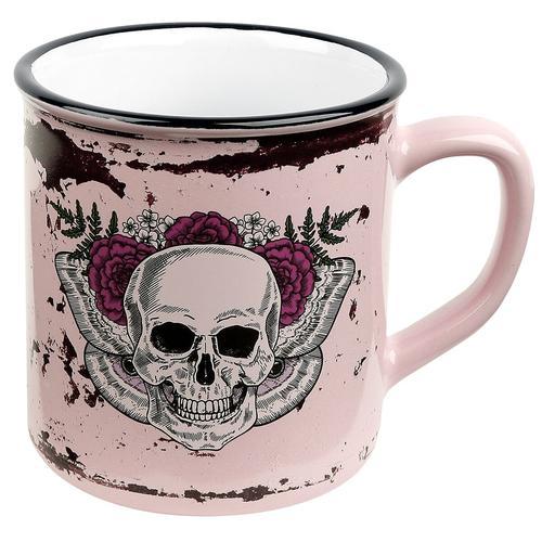 Skull Lady Skull Tasse - multicolor