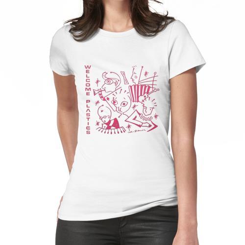 Kunststoffe - Willkommene Kunststoffe Frauen T-Shirt