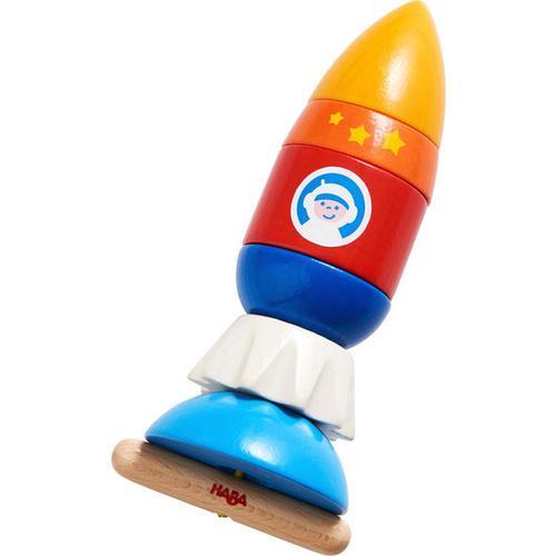 HABA Fädelspiel Rakete, bunt