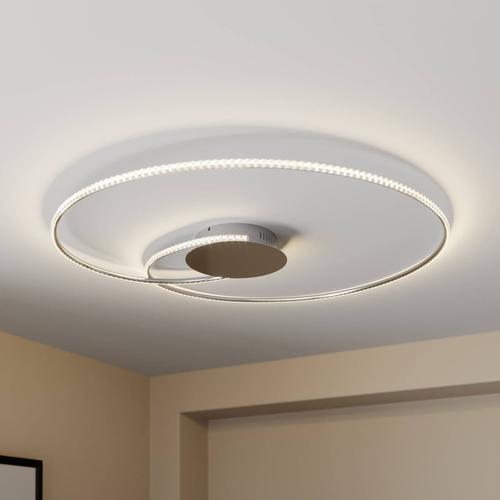 Lindby Joline LED-Deckenleuchte, kristall, 90 cm