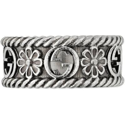 Gucci GG Ring aus Silber