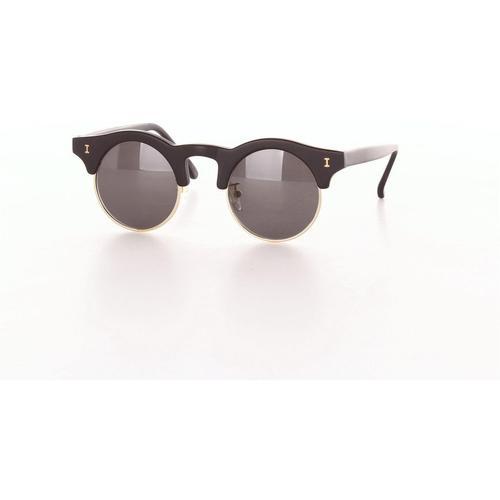 Illesteva Sonnenbrille, kleine runde dunkelheit
