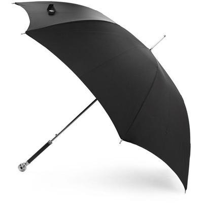 Alexander McQueen Parapluie noir Classic Skull