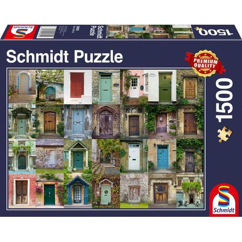 Schmidt Spiele Puzzle Türen bunt Kinder Gesellschaftsspiele