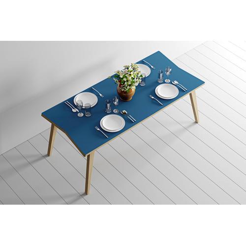 Woodman Esstisch Arrow, mit wunderschöner Linoleum Beschichtung beige Tische