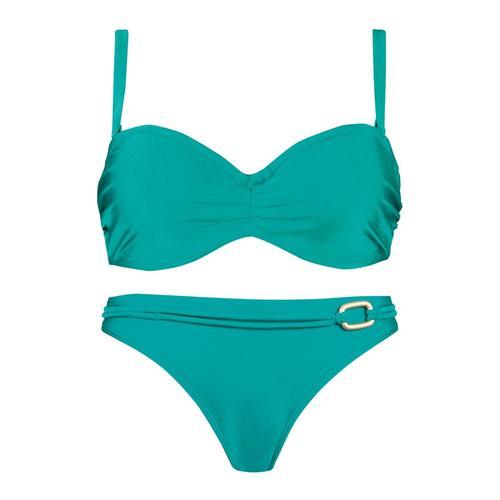 Bandeau Bügel Bikini Naturana SMARAGD