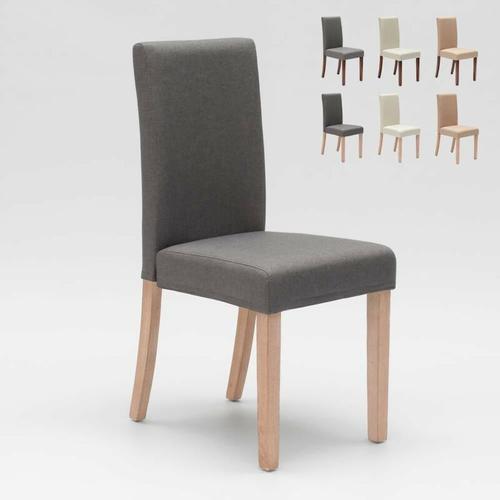 Esszimmerstuhl Esstischstuhl Gepolstert Henriksdal Design Comfort | Shabby Grau