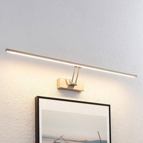 Lucande Thibaud LED-Bilderleuchte, nickel, 83,4 cm