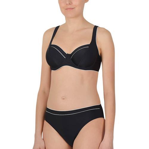 Bügel Bikini Naturana Schwarz-weiss