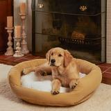 Happy Hounds Marley Donut Dog Bed, Cream, Small