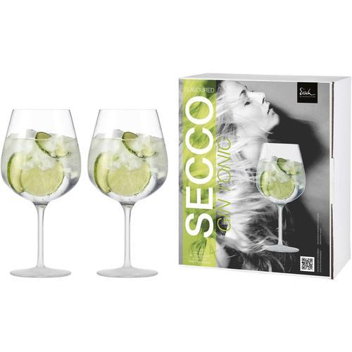 Eisch Weinglas Secco Flavoured, (Set, 2 tlg.), (Gin Tonic Glas), bleifrei, 735 ml farblos Kristallgläser Gläser Glaswaren Haushaltswaren