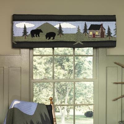 Donna Sharp Valance/Runner, Bear Lake - American Heritage Textiles 83413