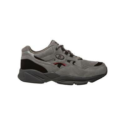Haband Mens Propet Stability Walker, Grey/Black, Size 7 Medium, M