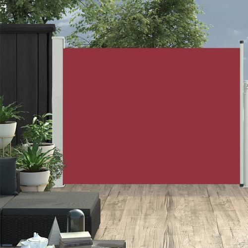 vidaXL Ausziehbare Seitenmarkise 170×500 cm Rot
