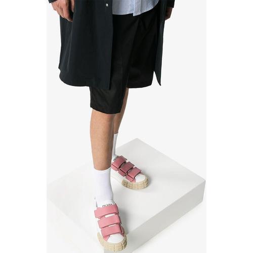 Prada Sneakers mit Klettverschluss
