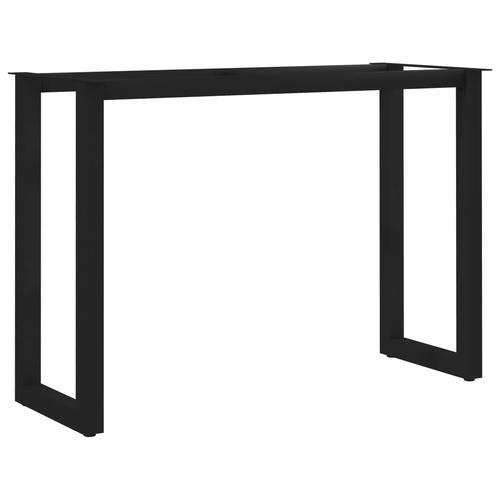 vidaXL Esstischbeine O-Rahmen 100 x 40 x 72 cm