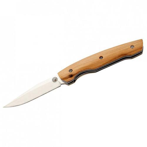 LUG - HY102 Taschenmesser - Messer wacholderholz griff