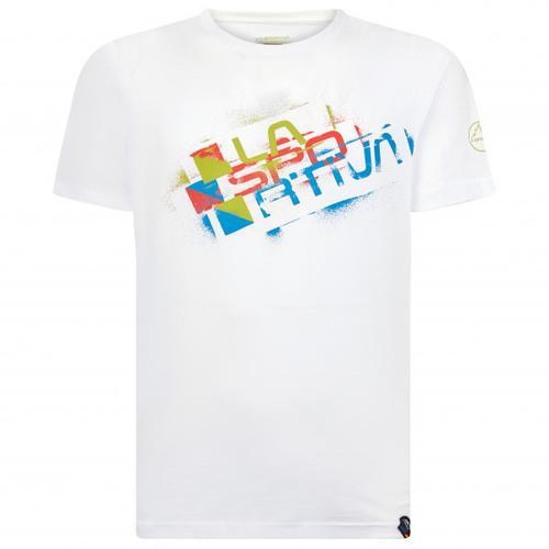 La Sportiva - Square Evo - T-Shirt Gr M weiß