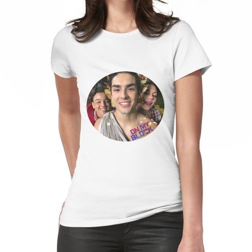 Auf meiner Blockreihe Frauen T-Shirt