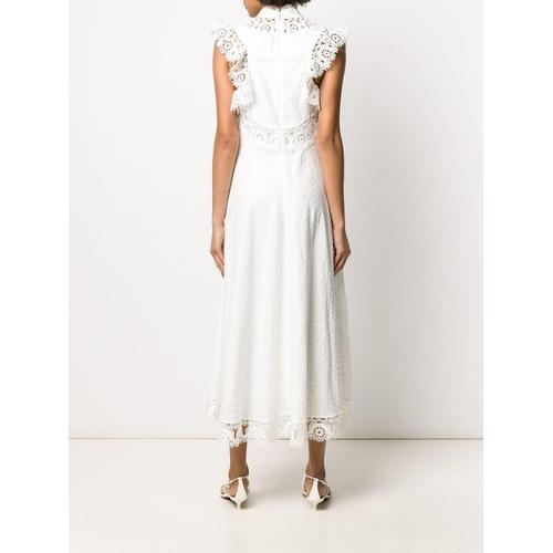 Zimmermann Kleid mit Laser-Cuts