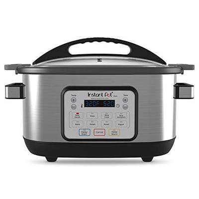 Instant Pot Aura 9-in-1 Multicooker, Slow Cooker, Rice Cooker, Steamer, Saute, Yogurt Maker, Stew, B