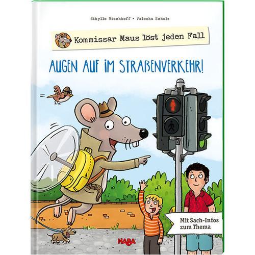HABA Kommissar Maus löst jeden Fall – Augen auf im Straßenverkehr!, bunt