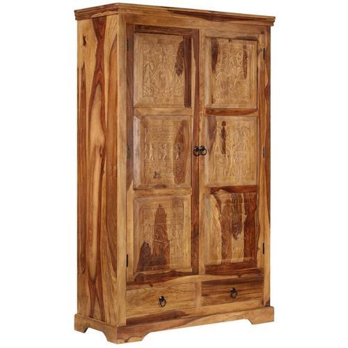 Vidaxl - Sideboard 110 x 45 x 80 cm Massivholz